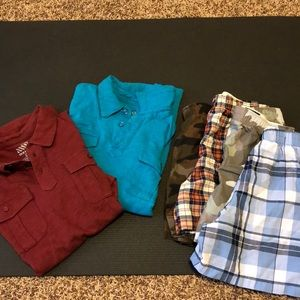 Collared Shirts and Boxers